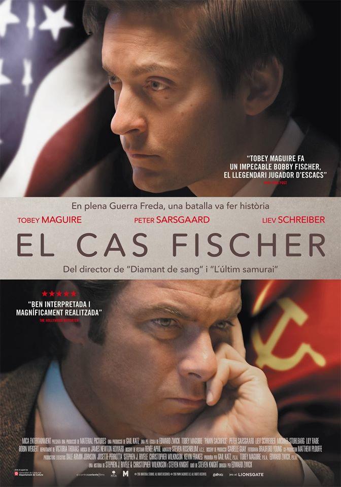 Cartel de El caso Fischer