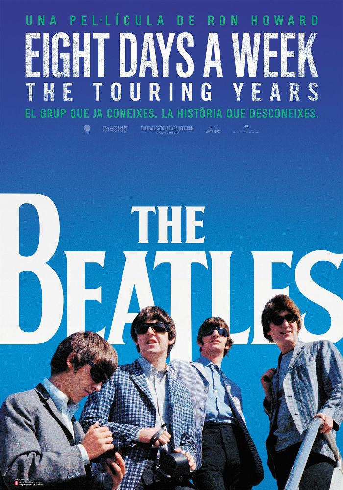 Cartel de The Beatles: Eight Days a Week