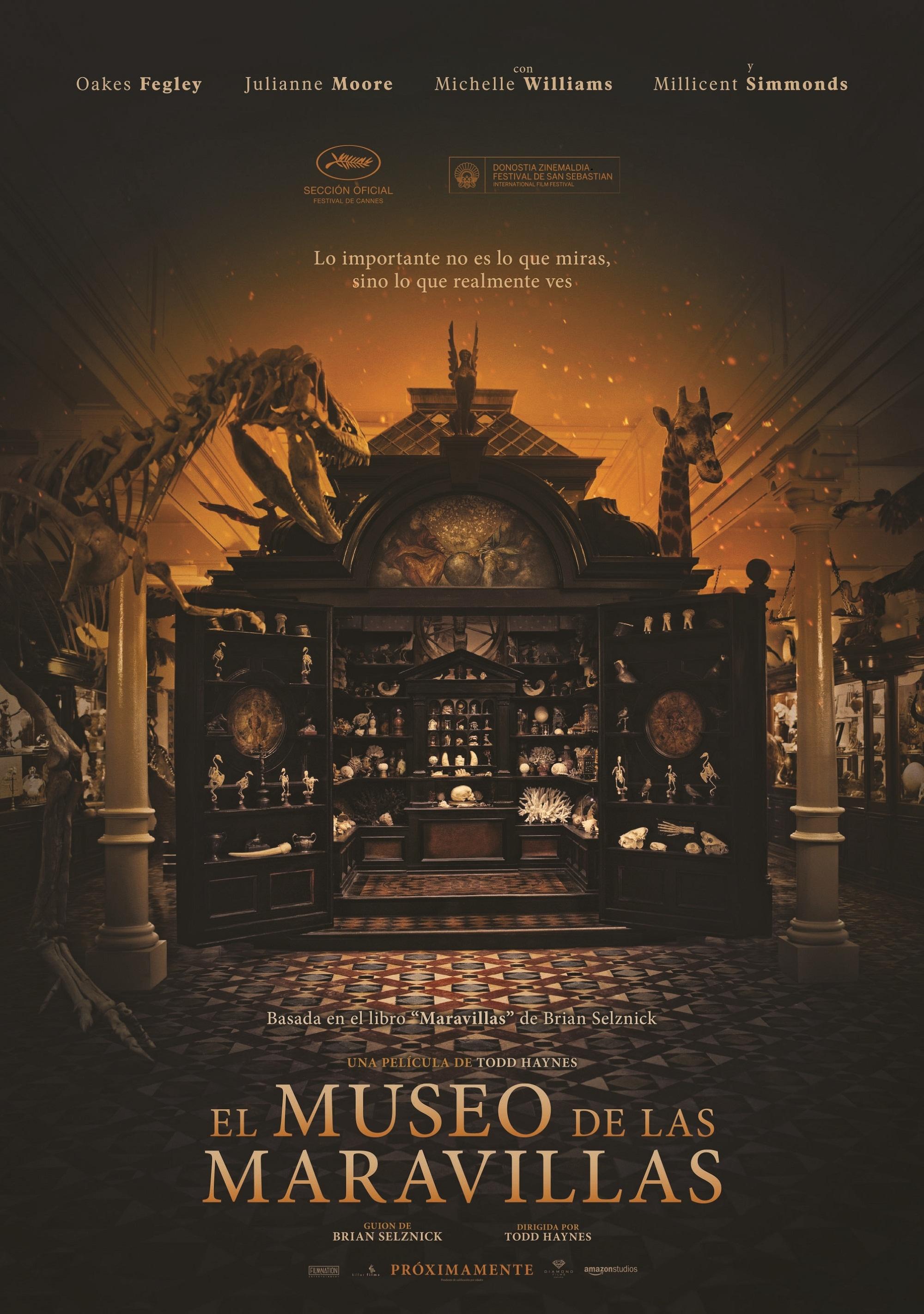 Cartel de El museo de las maravillas