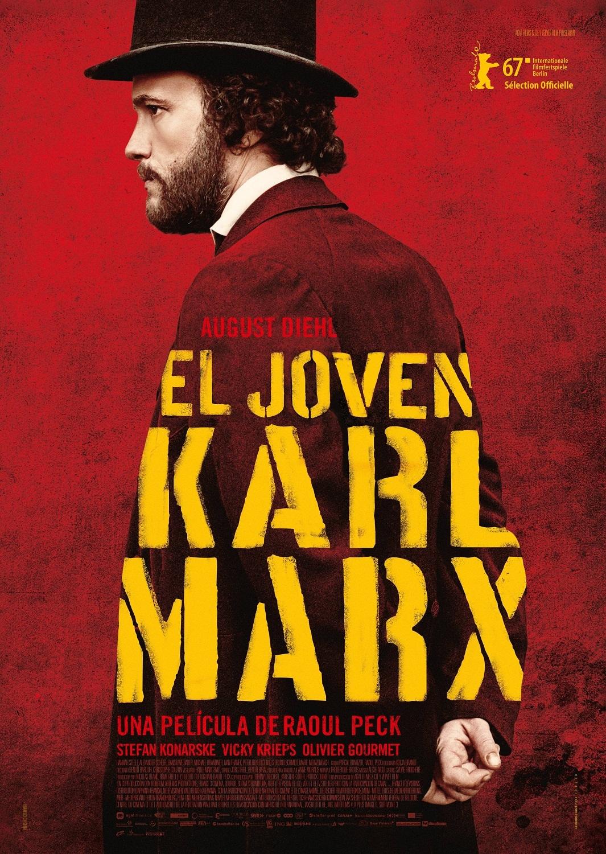 Cartel de El joven Karl Marx