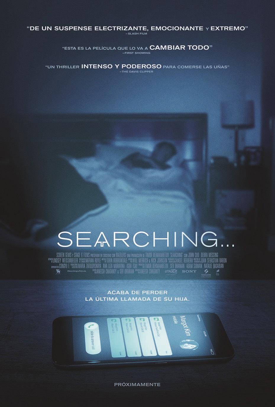 Cartel de Searching