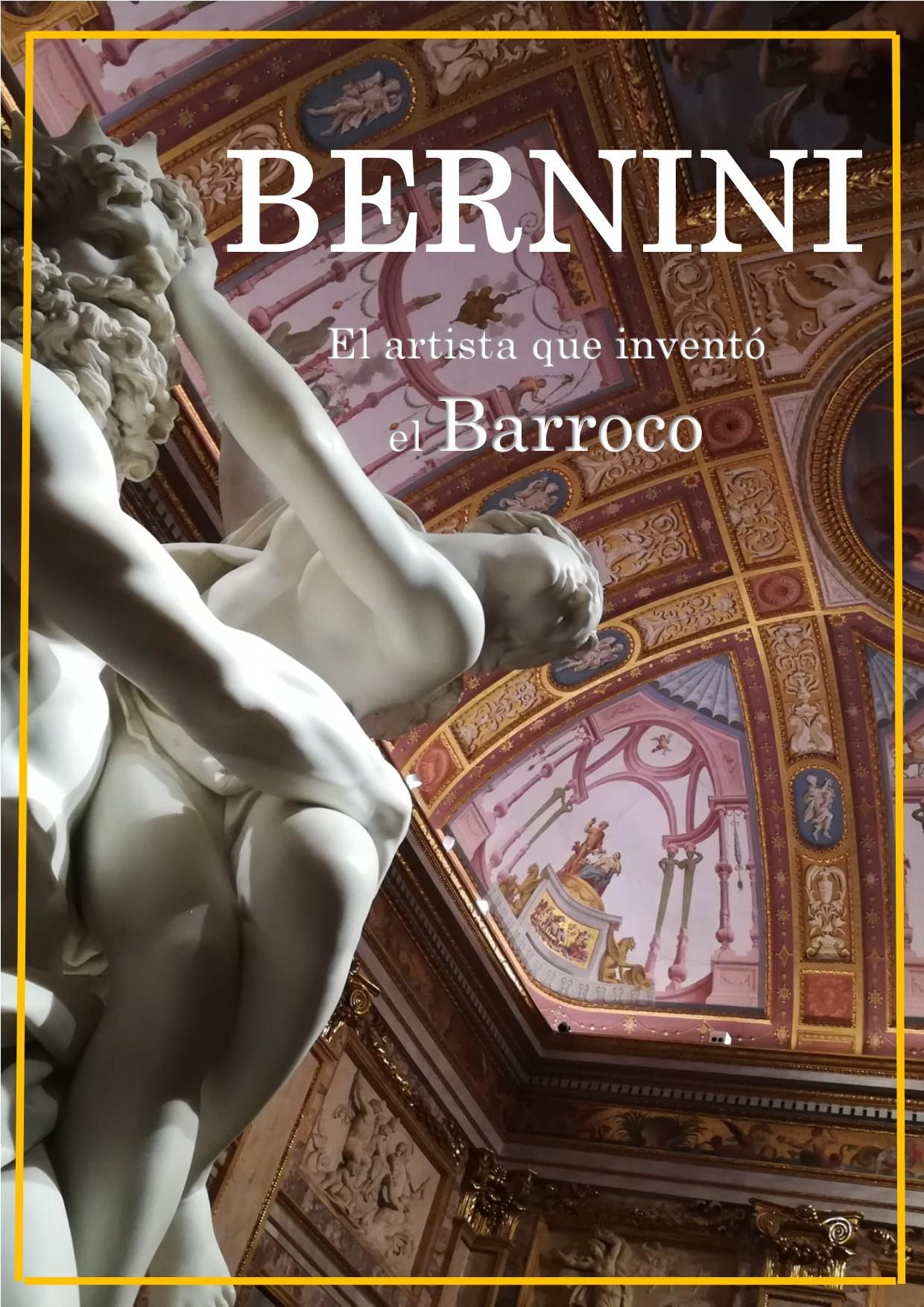 Cartel de Bernini, el artista que inventó el barroco