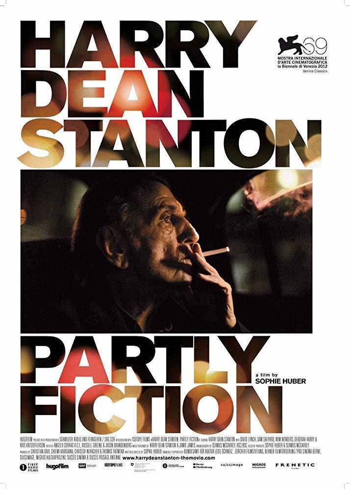 Cartel de Harry Dean Stanton: Partly Fiction