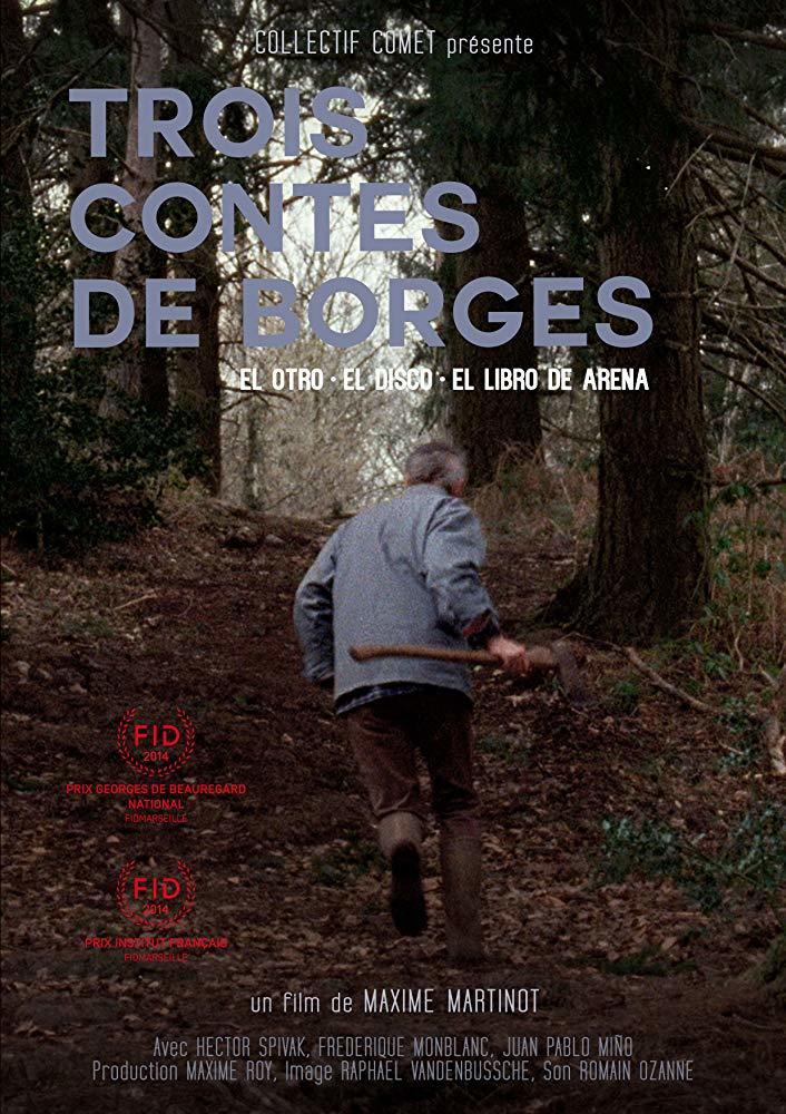 Cartel de Trois contes de Borges