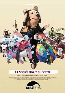 Cartel de La socióloga y el osito