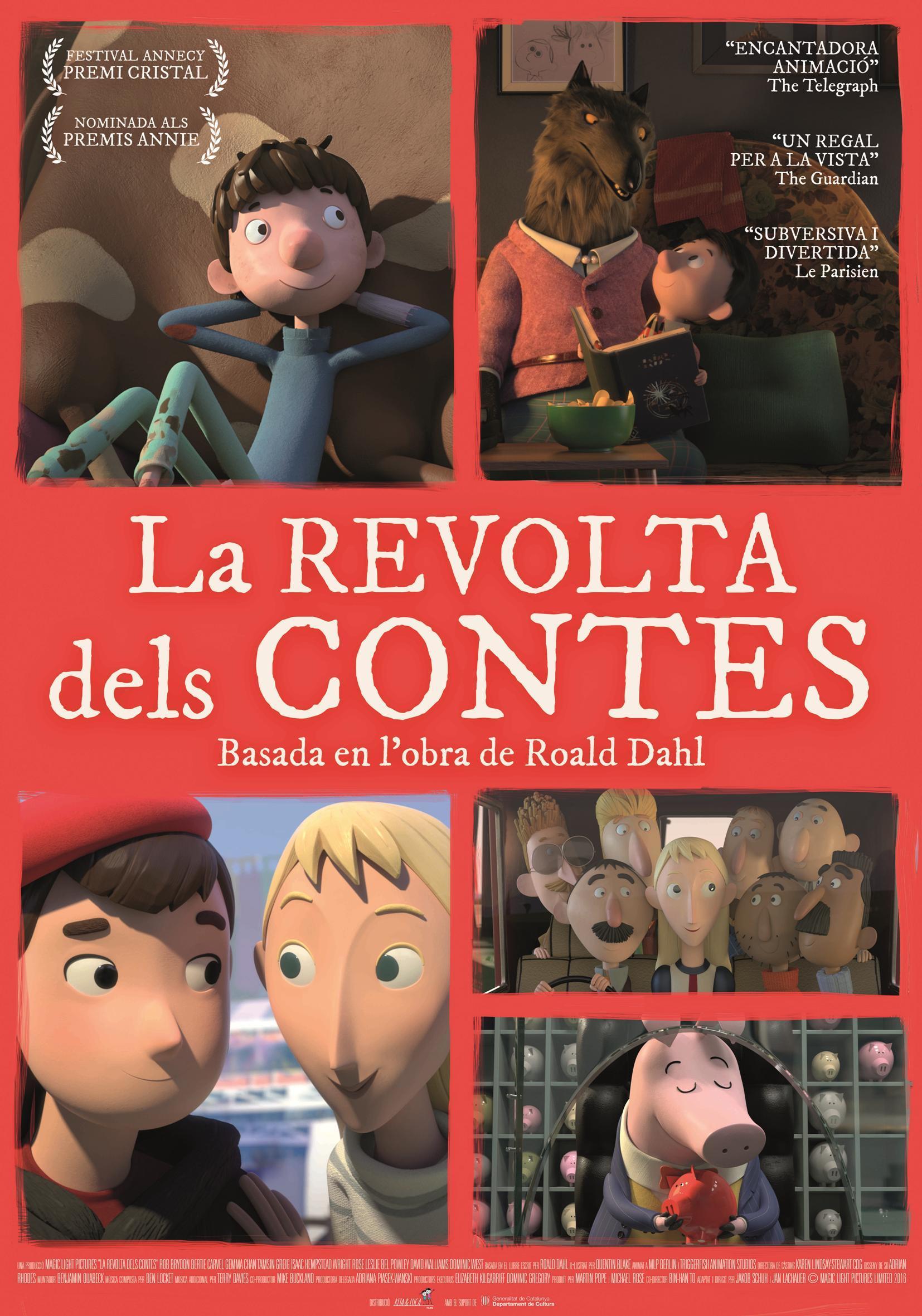 Cartel de La rebelión de los cuentos