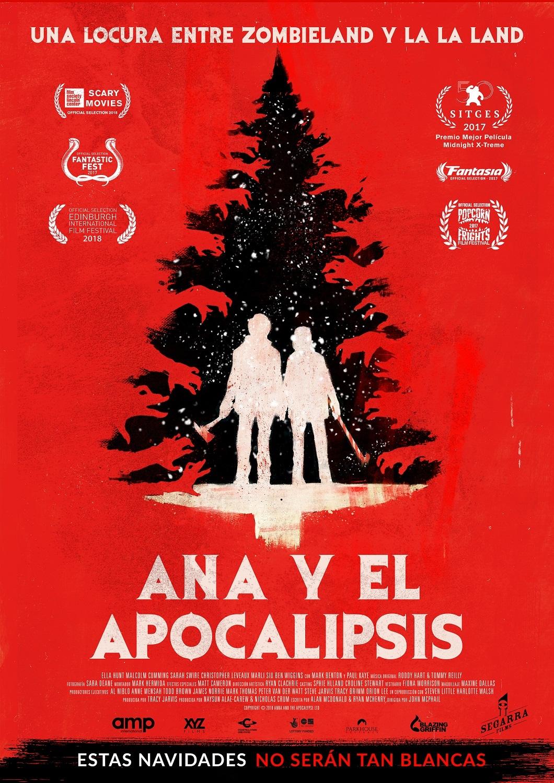 Cartel de Ana y el apocalipsis