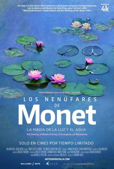 Cartel de Los nenúfares de Monet