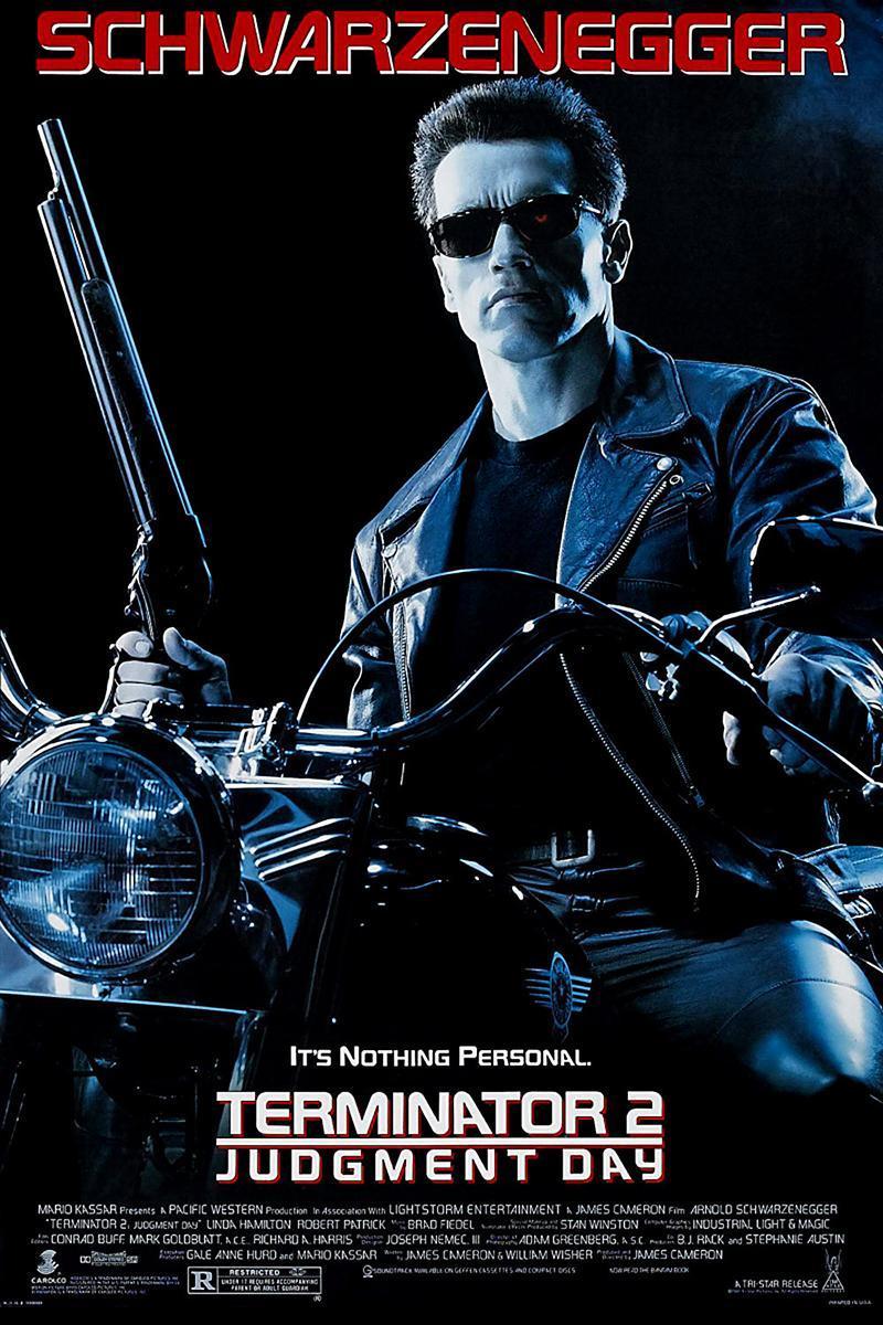Cartel de Terminator 2: El juicio final