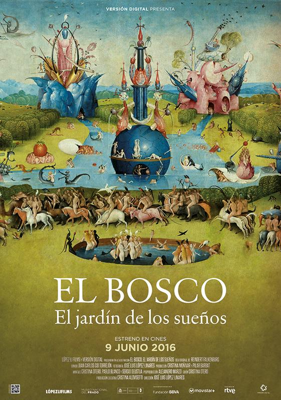 Cartel de El Bosco, el jardín de los sueños