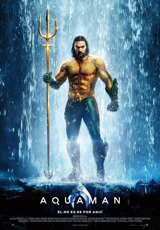 Cartel de Aquaman