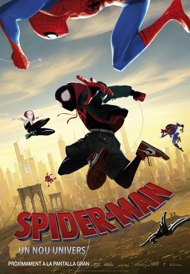Cartel de Spider-Man: Un nuevo universo