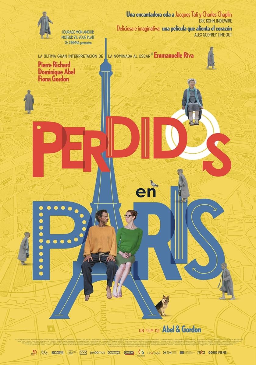 Cartel de Perdidos en París