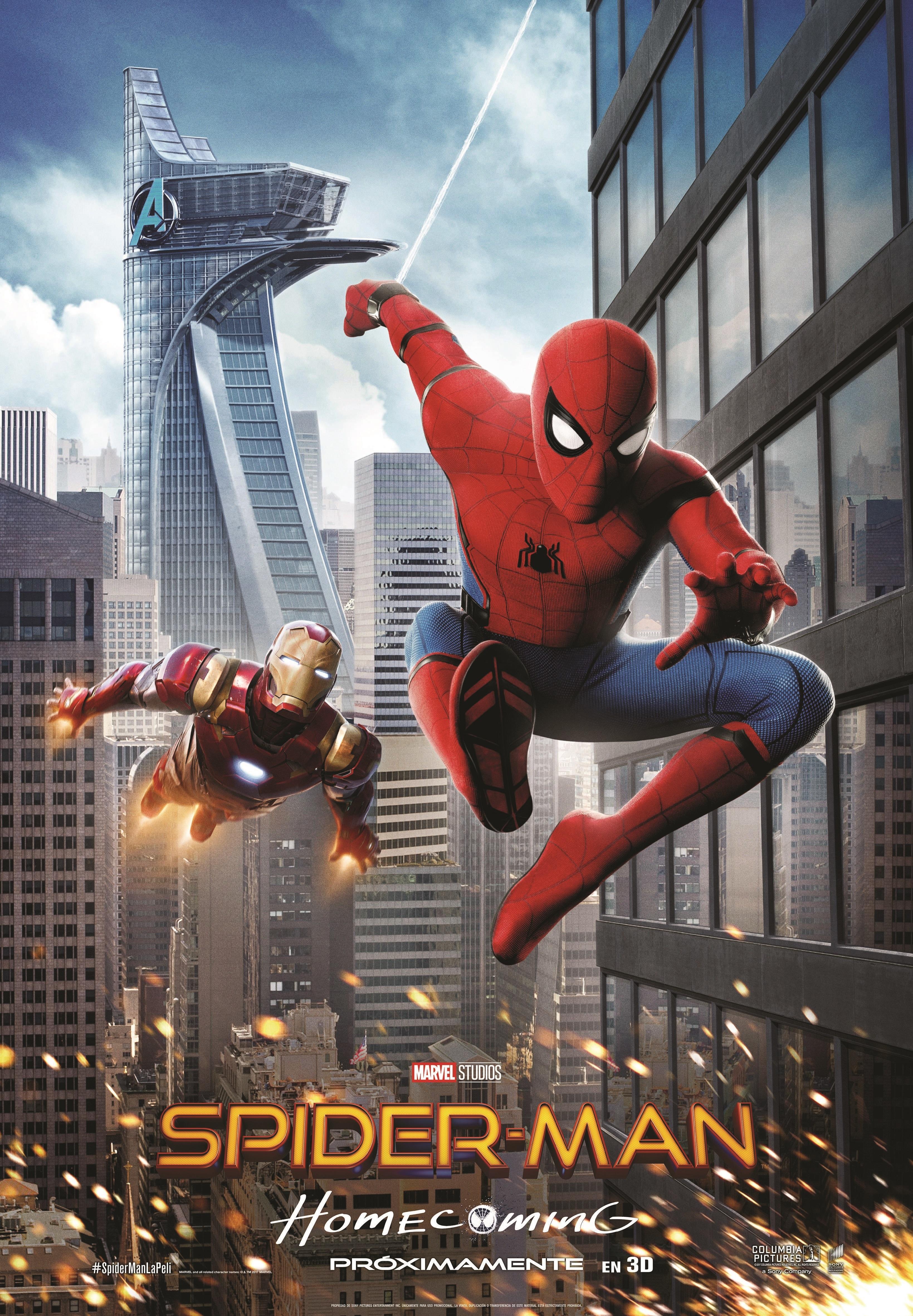 Cartel de Spider-Man: Homecoming