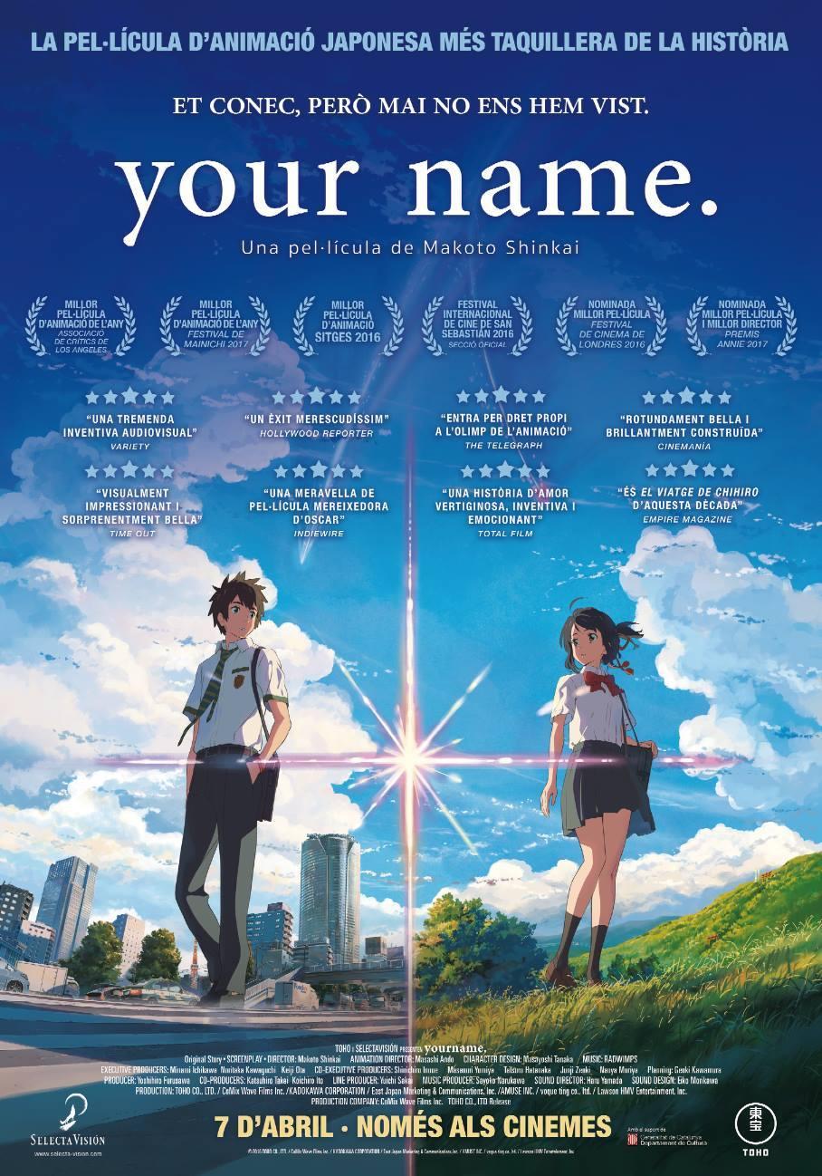 Cartel de Your Name