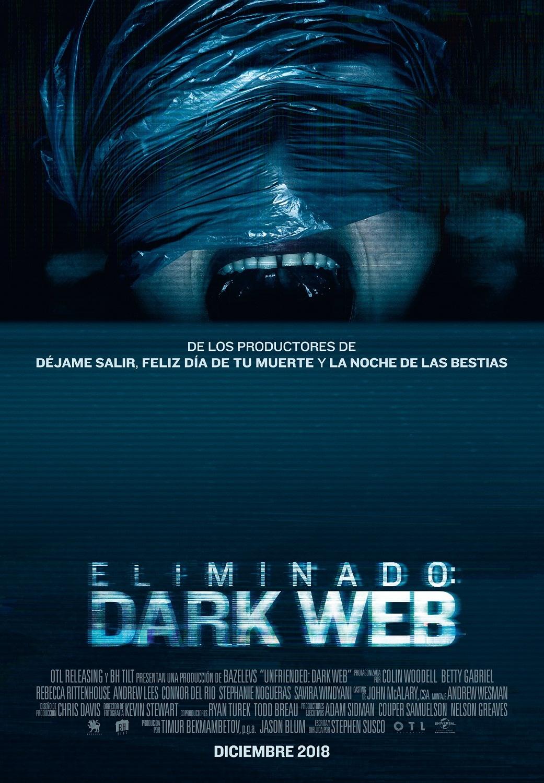 Cartel de Eliminado: Dark Web
