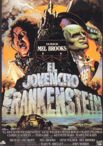 Cartel de El jovencito Frankenstein