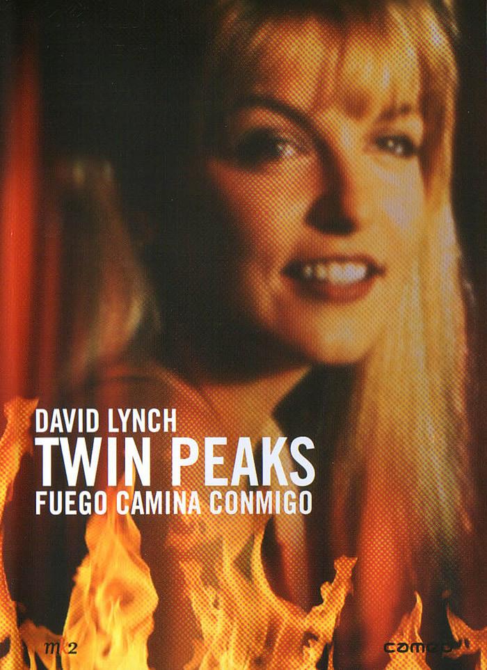 Cartel de Twin Peaks: fuego camina conmigo
