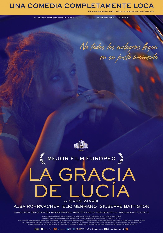 Cartel de La Gracia de Lucía