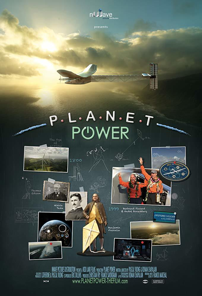 Cartel de Planet Power 3D. La energía del planeta