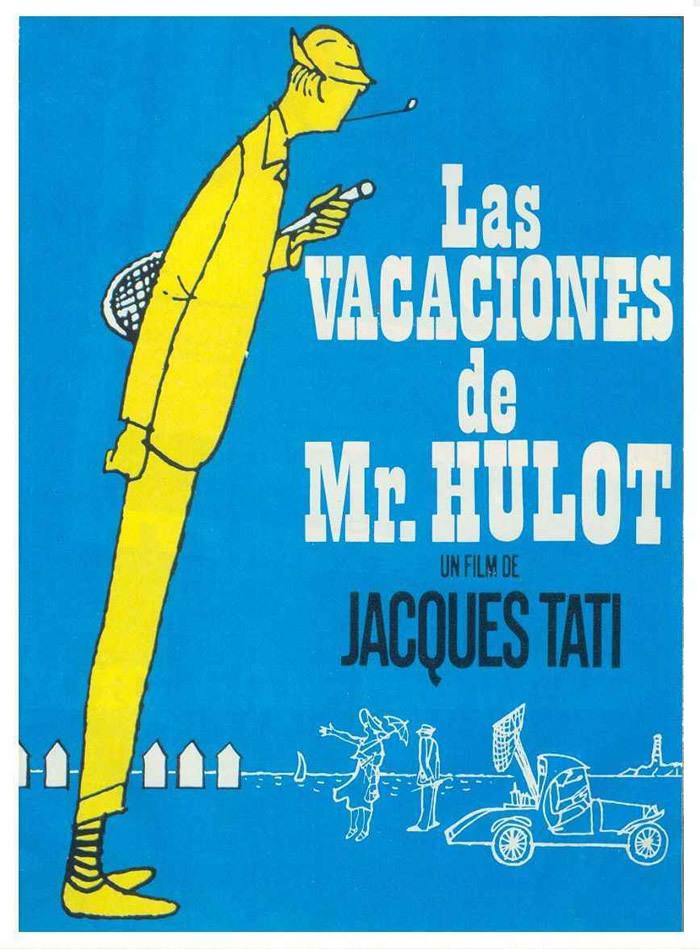 Cartel de Las vacaciones del Sr. Hulot