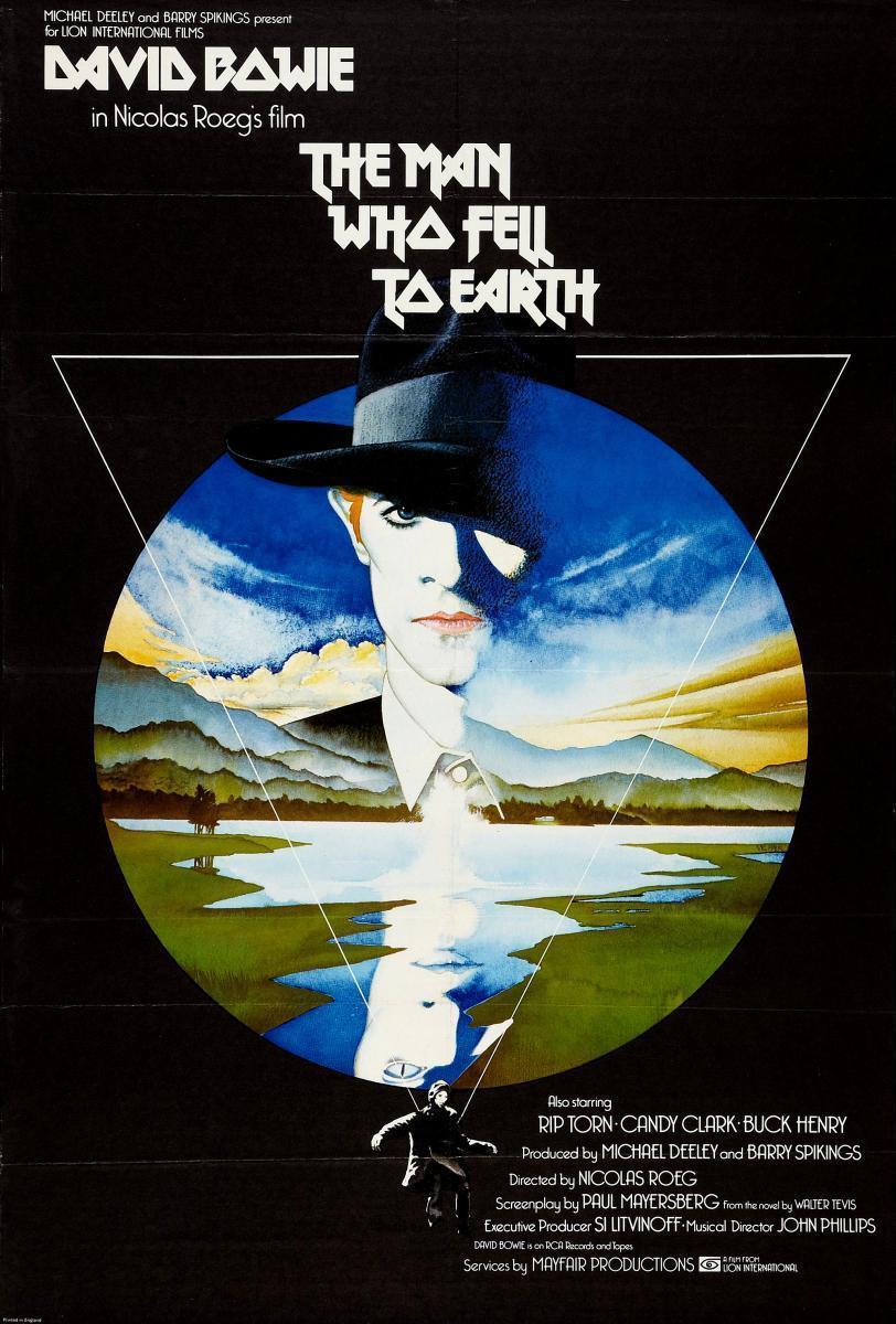 Cartel de El hombre que cayó a la Tierra