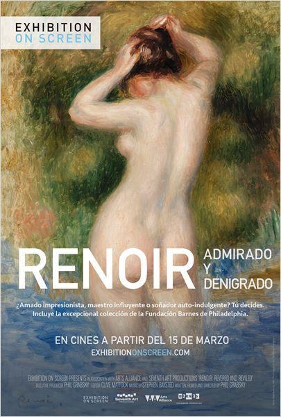 Cartel de Renoir: admirado y denigrado
