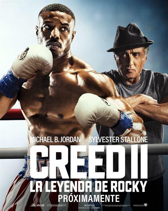 Cartel de Creed II: La leyenda de Rocky