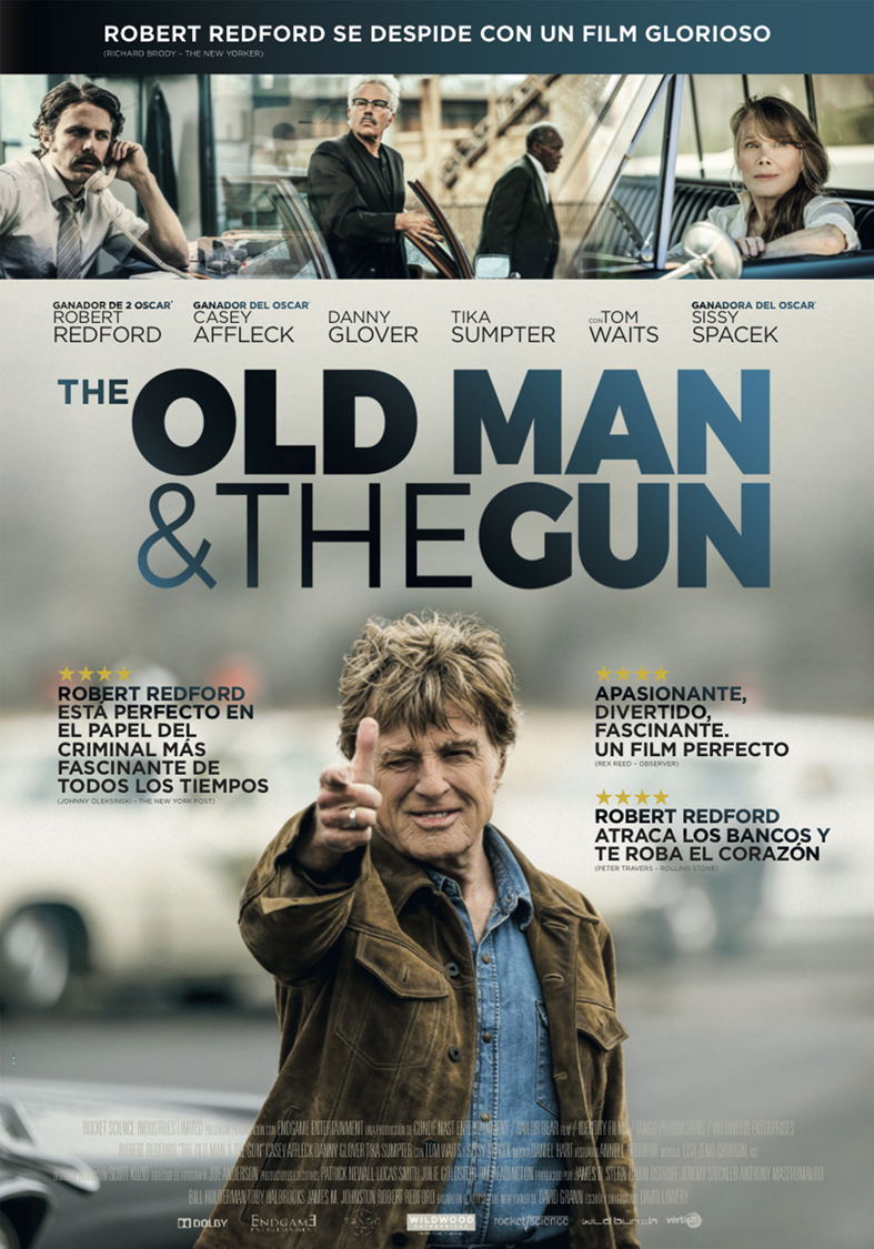 Cartel de The Old Man & the Gun