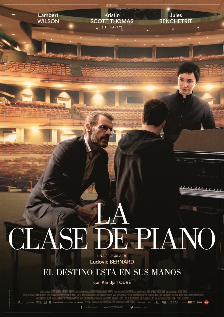 Cartel de La clase de piano