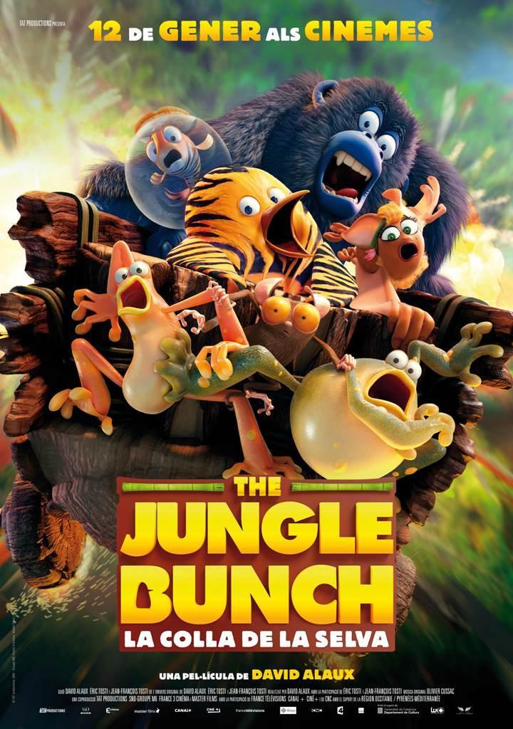 Cartel de The Jungle Bunch. La panda de la selva