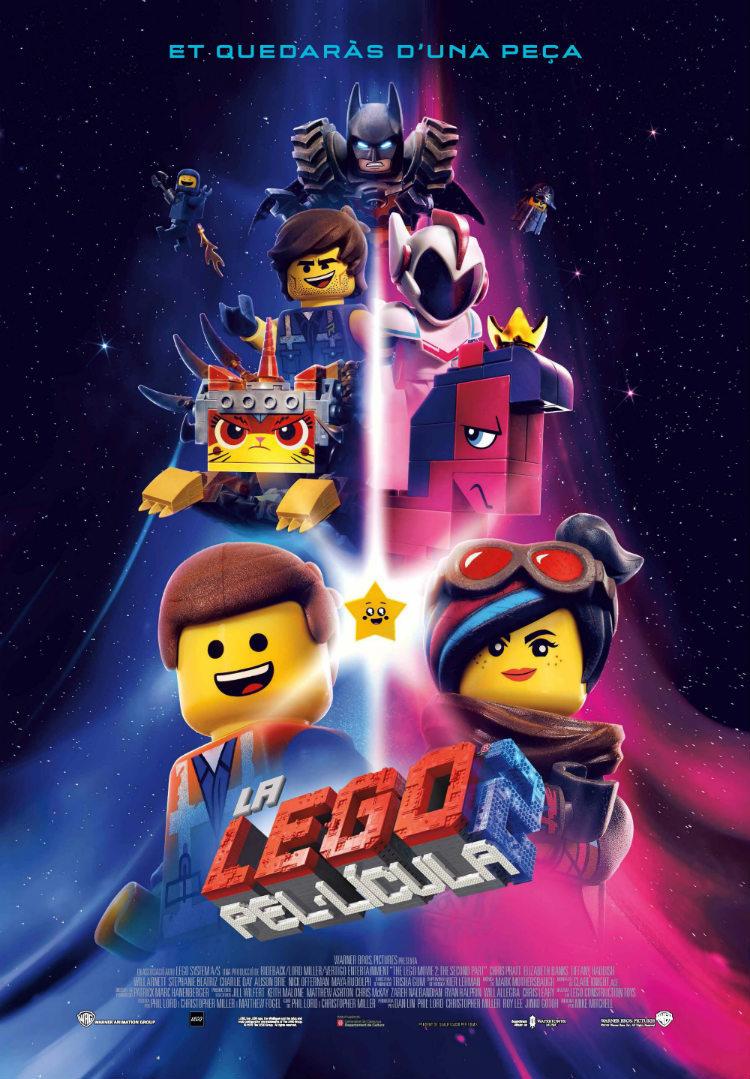 Cartel de La Lego película 2
