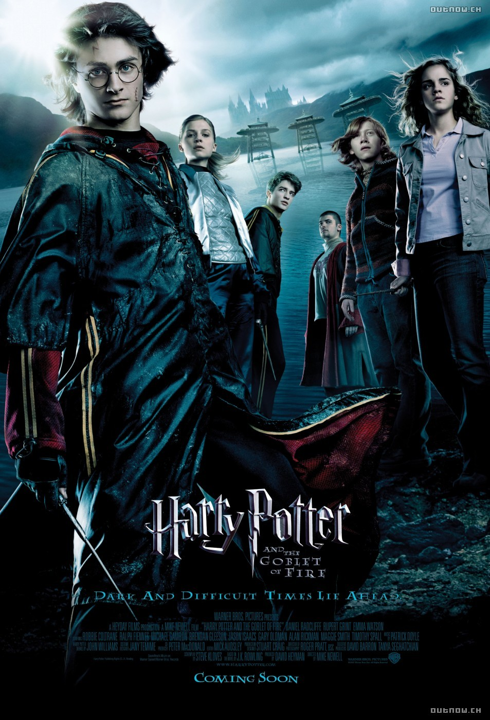 Cartel de Harry Potter y el Cáliz de Fuego