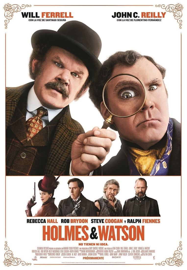 Cartel de Holmes & Watson
