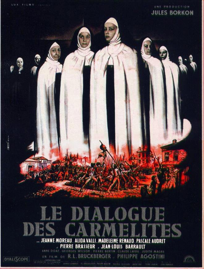 Cartel de Diálogos de Carmelitas