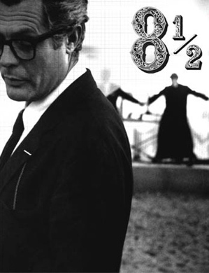 Cartel de Fellini 8 1/2