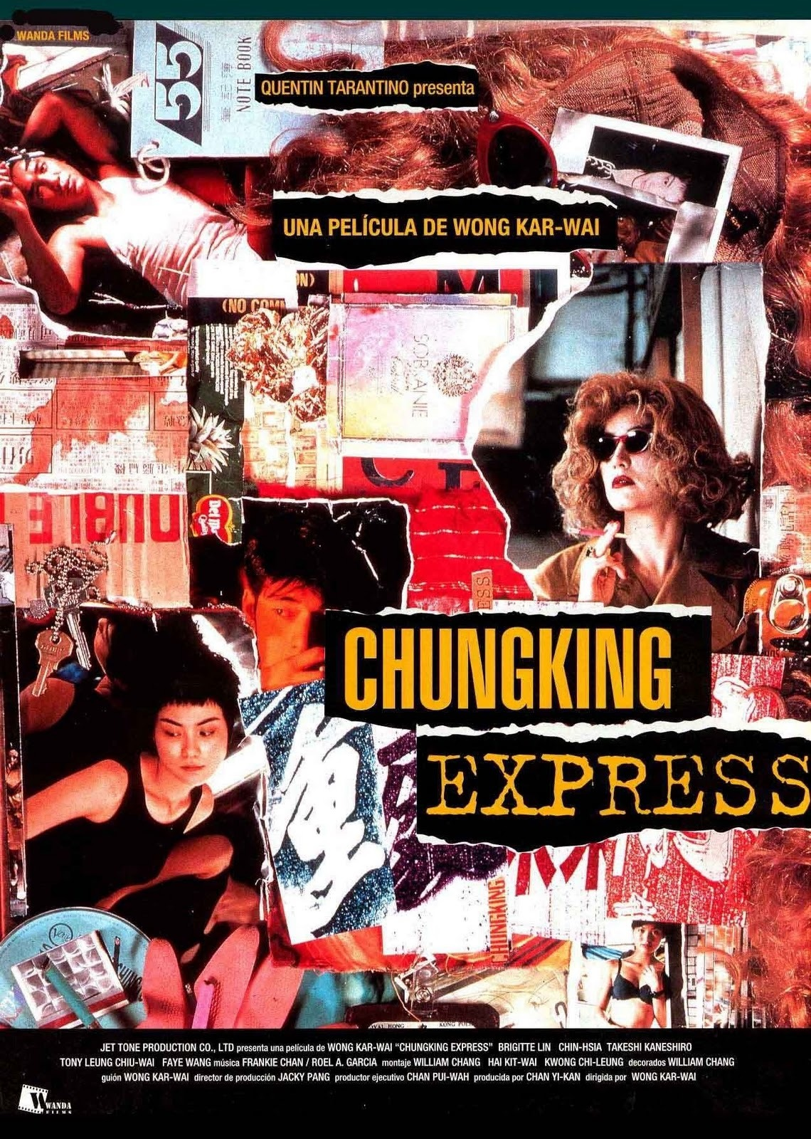 Cartel de Chungking Express