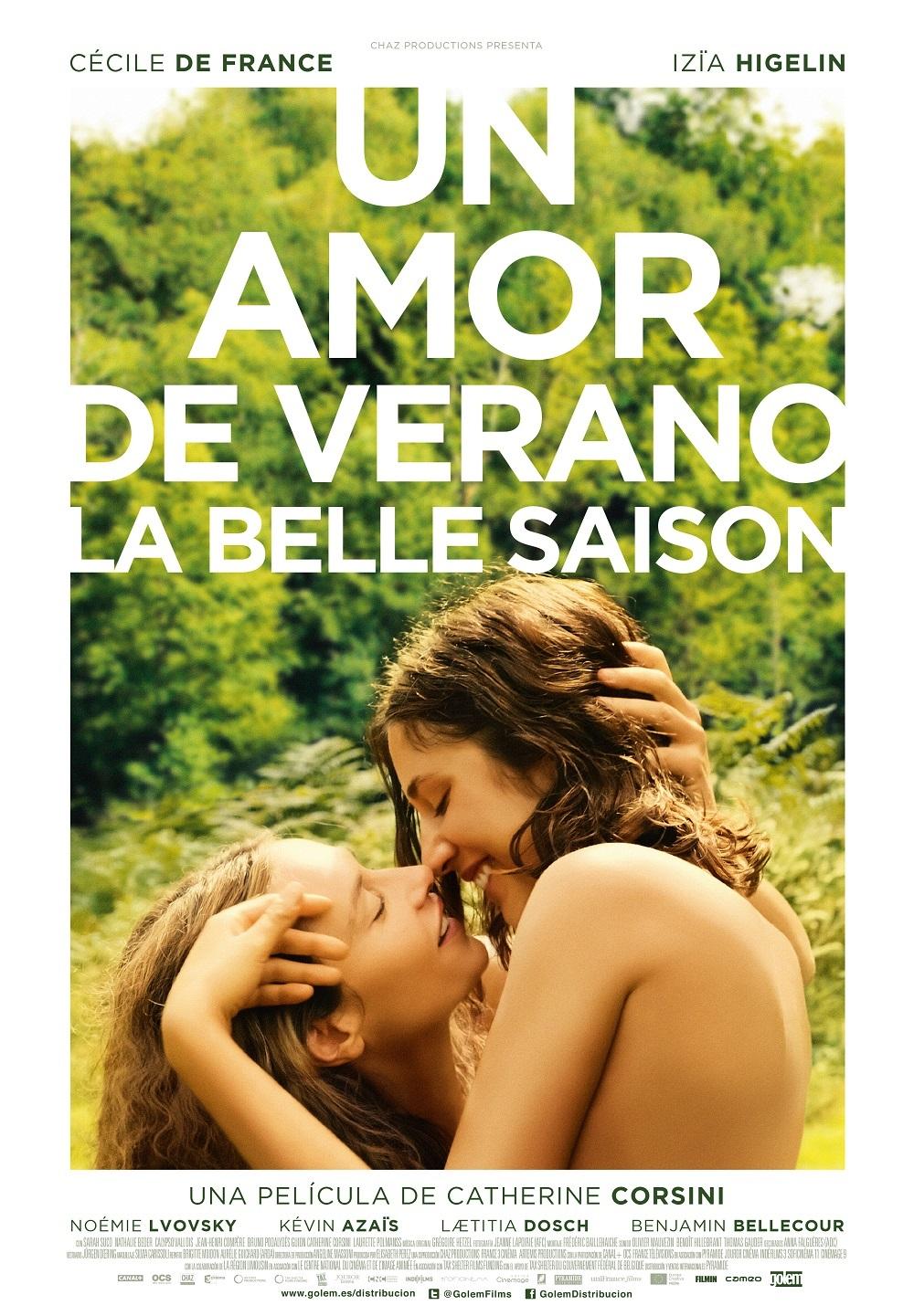 Cartel de Un amor de verano