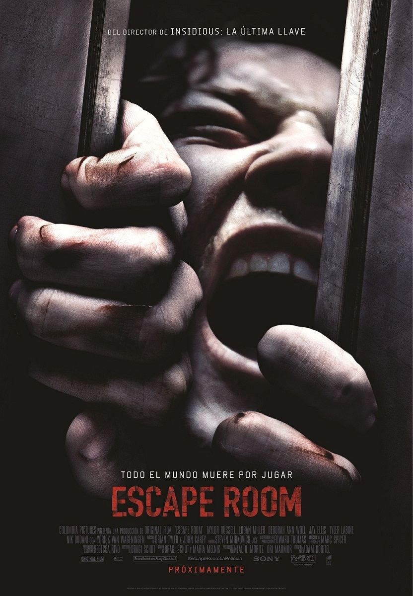 Cartel de Escape Room
