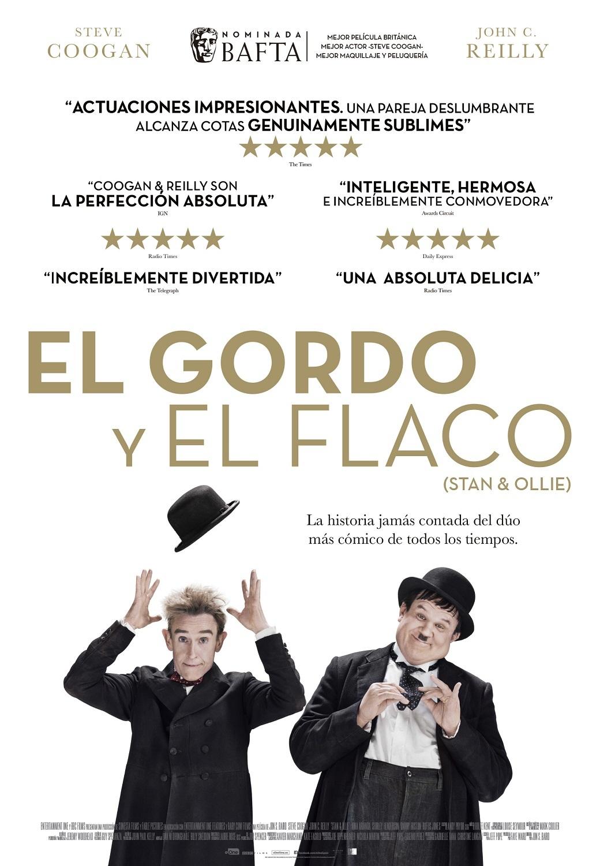 Cartel de El Gordo y el Flaco