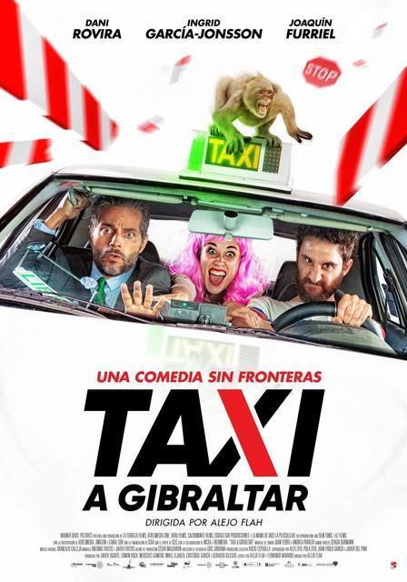 Cartel de Taxi a Gibraltar