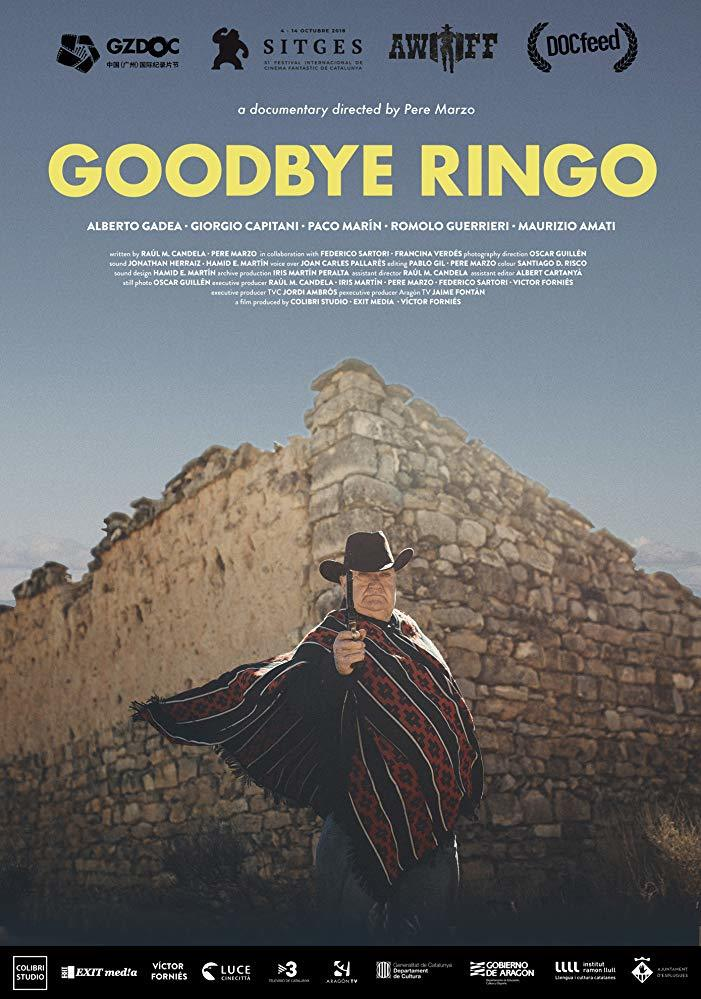 Cartel de Goodbye Ringo