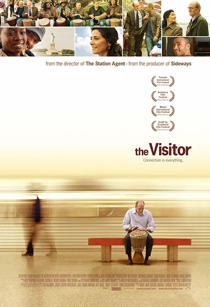 Cartel de The visitor