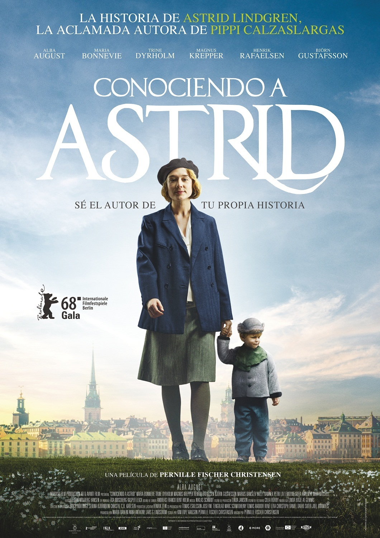 Cartel de Conociendo a Astrid