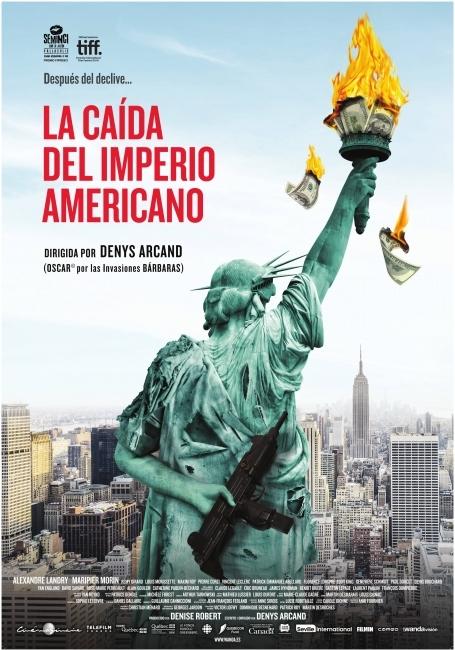 Cartel de La caída del imperio americano