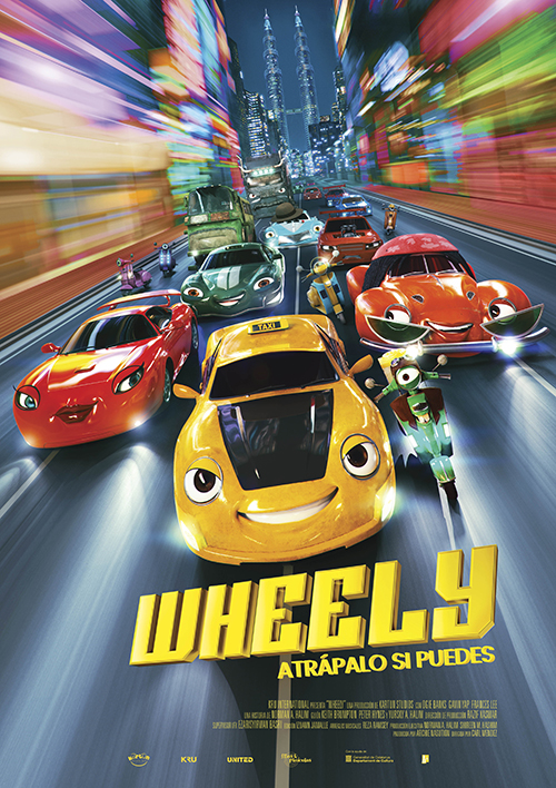 Cartel de Wheely