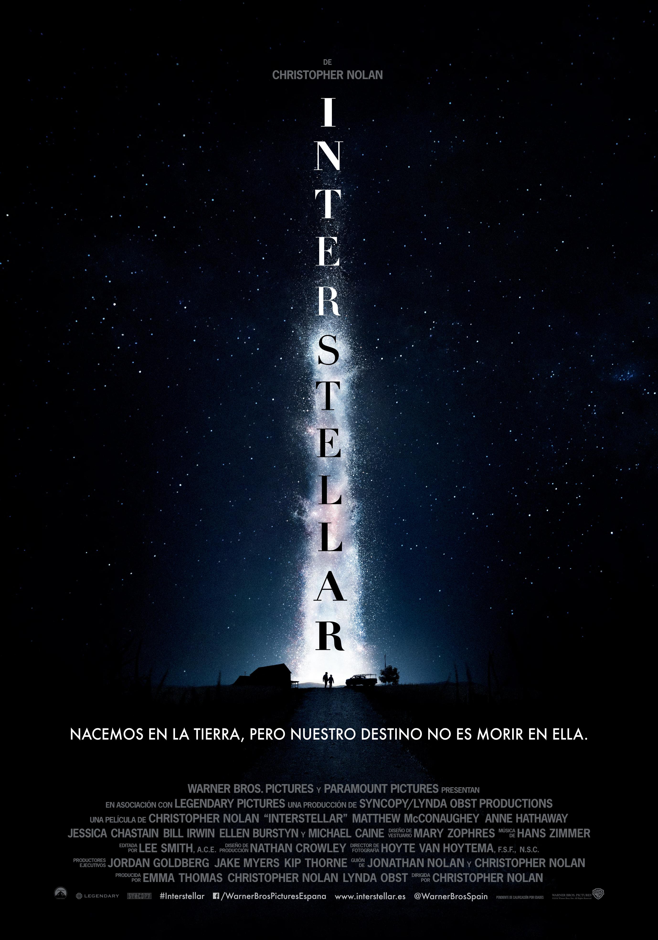 Cartel de Interstellar