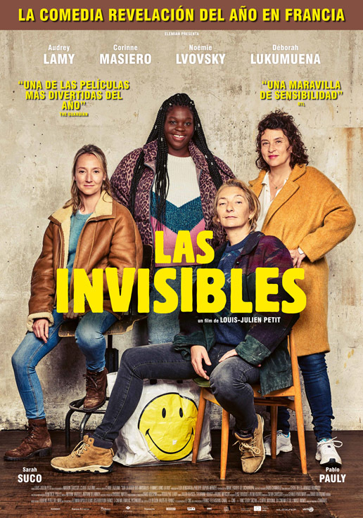 Cartel de Las invisibles