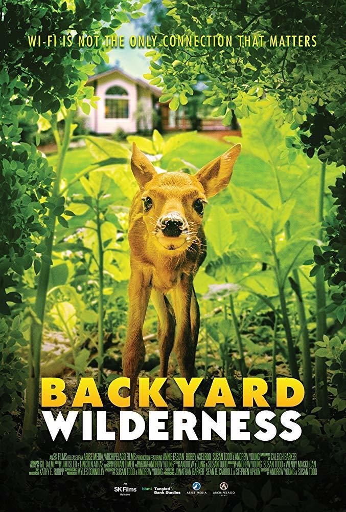 Cartel de Jardín salvaje. La naturaleza que nos rodea