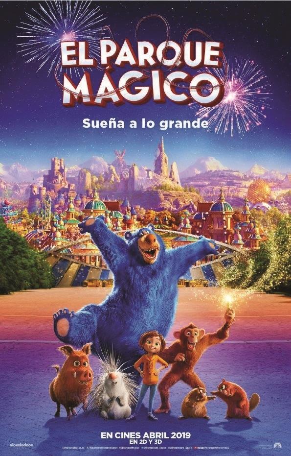 Cartel de El parque mágico
